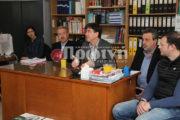 Ο Δημήτρης Μπαξεβανάκης υποσχέθηκε άμεση λύση για το σχολείο της Ν. Μανωλάδας