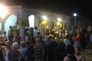 Εορτάστηκε με κατάνυξη στον Πύργο η Αποτομή της Κεφαλής του Αγίου Ιωάννη στο ομώνυμο παρεκκλήσι