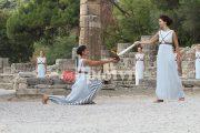 «Λίφτινγκ» στην Ολυμπία ενόψει της τελετής Αφής