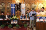 Ενημερωτική εκδήλωση για τα Σκόπια και την Κύπρο στον Ι. Ν. Αγίου Σπυρίδωνος Πύργου