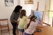 Έναρξη μαθημάτων στο Εργαστήρι Ζωγραφικής του Δήμου Πύργου