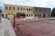 Αγιασμός στο «λαβωμένο» από το σεισμό Δημοτικό Σχολείο Ανδραβίδας στις 9 το πρωί παρουσία του Δημάρχου Γ. Λέντζα