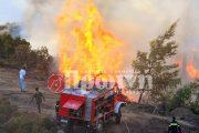 Υποχωρεί από αύριο ο καύσωνας - Υψηλός κίνδυνος πυρκαγιάς και σήμερα στην Ηλεία