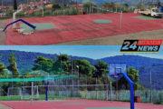 Τοποθέτηση νέων μπασκετών στο Γήπεδο Γυμνασίου-Λυκείου Νέας Φιγαλείας