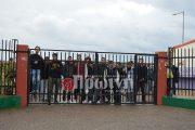 Κατάληψη και πορεία για το κλειστό γυμναστήριο Πύργου από μαθητές Λυκείων της πόλης