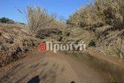 Επικίνδυνο το λαγκάδι του Καπελέτου - Απειλή το χειμώνα το ρέμα που χωρίζει το χωριό στα δύο