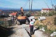 Ξεκίνησε από το χωριό Ανάληψη το μεγάλο αντιπλημμυρικό έργο για την αποκατάσταση των κατολισθήσεων