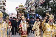 Με μεγαλοπρέπεια ο εορτασμός του Πολιούχου Αγ. Χαραλάμπους - Πλήθος κόσμου χθες στον Πύργο για ένα κεράκι στον Άγιο