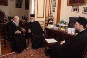 Επίσκεψη Ιεραρχών στον Μητροπολίτη Ηλείας
