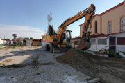 Ξεκίνησαν οι εργασίες για την κατασκευή της νέας κεντρικής πλατείας στην Τοπική Κοινότητα Σαβαλίων