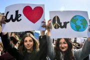 Η γενιά της κλιματικής αλλαγής βγαίνει στον δρόμο