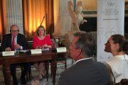 Συνάντηση Διονυσίας Αυγερινοπούλου με ΑΒΥ Πριγκίπισσα Βικτωρία της Σουηδίας για συνεργασία Αρχαίας Ολυμπίας-Στοκχόλμης