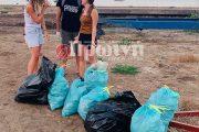 Kαθάρισαν την παραλία Κατακόλου και θα το επαναλάβουν!
