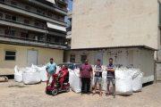 Νέα «φουρνιά» με καπάκια θα γίνει αμαξίδιο: Το Σωματείο Παραπληγικών και οι πρόσκοποι Πύργου έδιωξαν νέο φορτίο για ανακύκλωση