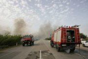 Δύο πυρκαγιές σε Ν. Μανωλάδα και Λευκοχώρι Γαστούνης