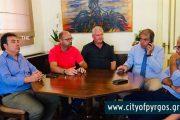 Συνάντηση Τ. Αντωνακόπουλου με το ΔΣ του ΚΤΕΛ ΗΛΕΙΑΣ: Πρόβλημα με τα διπλοπαρκαρισμένα ΙΧστο κέντρο της πόλης