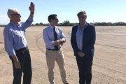 Συνάντηση Β. Γιαννόπουλου με αντιπεριφερειάρχη Φ. Ζαίμη: Εξετάστηκε η αξιοποίηση του αεροδρομίου Επιταλίου