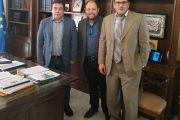 Συνάντηση του Δημάρχου Τ. Αντωνακόπουλου με τον Σύλλογο Σχολικών Καθαριστριών Δήμου Πύργου