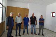 Προσεχώς υπηρεσίες του Δήμου Ήλιδας στο Διοικητήριο της Σοχιάς - Αυτοψία Λυμπέρη στο νεόδμητο κτίριο