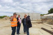 Αυτοψία Λυμπέρη και κλιμακίου ΕΠΠΕΡΑΑ στην Τριανταφυλλιά: Εντός χρονοδιαγράμματος η κατασκευή του Εργοστασίου Απορριμμάτων