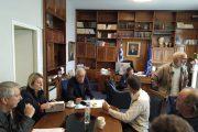 Δήμος Ηλιδας: Οριστική λύση στο πρόβλημα του διαύλου στο λιμανάκι του Παλουκίου - Συνάντηση του Δημάρχου κ. Γιάννη Λυμπέρη με τους αλιείς της περιοχής