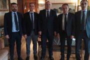Συνάντηση στην Αθήνα του Δικηγορικού Συλλόγου Αμαλιάδας με τον Υπ. Δικαιοσύνης Κ. Τσιάρα