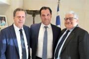 Συνάντηση Τζαβάρα - Γεωργιόπουλου με τον Άδ.Γεωργιάδη: Με κέντρο την Ολυμπία σε τροχιά ανάπτυξης η Ηλεία